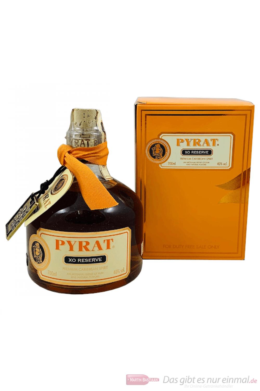 Pyrat Rum XO Reserve Anguilla in Geschenkverpackung 0,7l