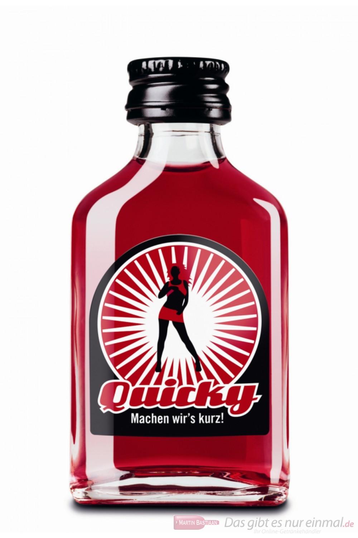 Quicky Fruchtlikör 20% 20-0,02l Miniatur Flaschen
