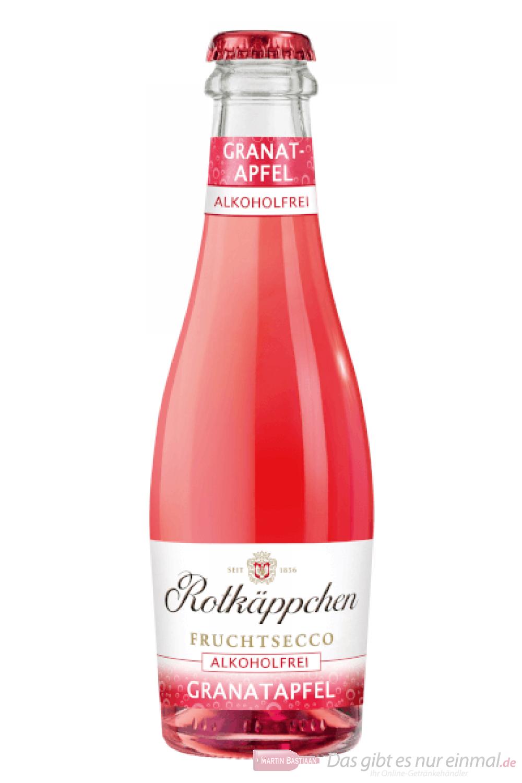 Rotkäppchen Granatapfel Fruchtsecco Alkoholfrei Piccolo 12-0,2l