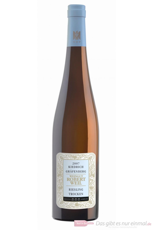 Robert Weil Kiedricher Gräfenberg Riesling Erstes Gewächs trocken Weißwein 2007 13,5% 1,5l Magnumflasche