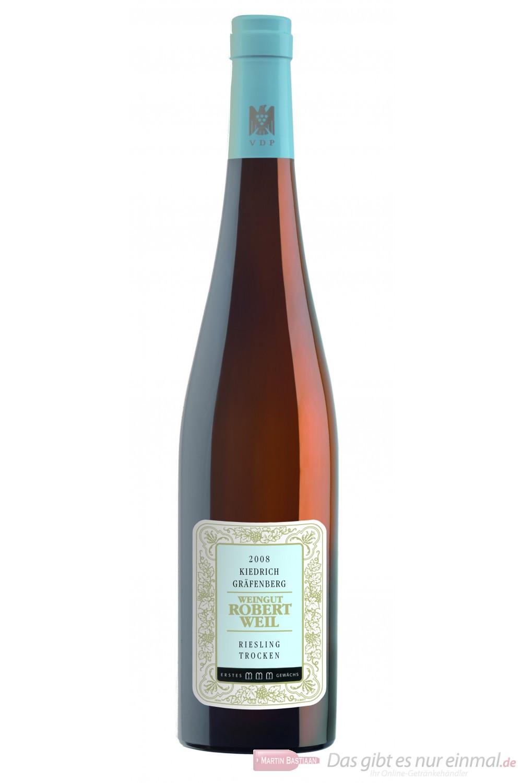 Robert Weil Kiedricher Gräfenberg Riesling Erstes Gewächs trocken Weißwein 2009 13,5% 0,75l Flasche
