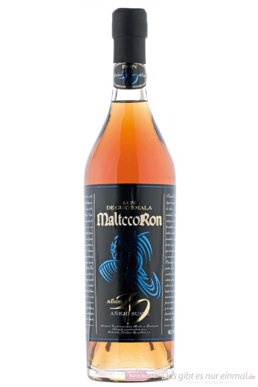 Ron Malteco 10 Years Rum 40,5% 0,7l Flasche