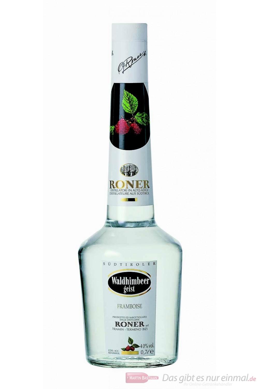 Roner Waldhimbeergeist Obstbrand 40 % 0,7 l Flasche