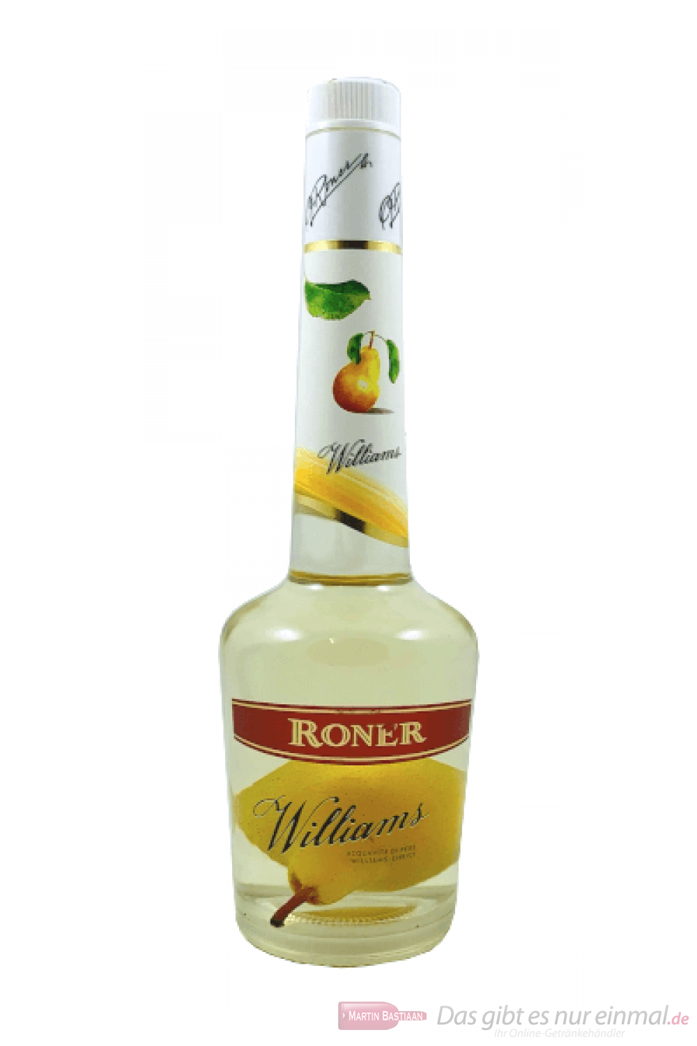 Roner Obstbrand Williams mit Birne 0,7 l