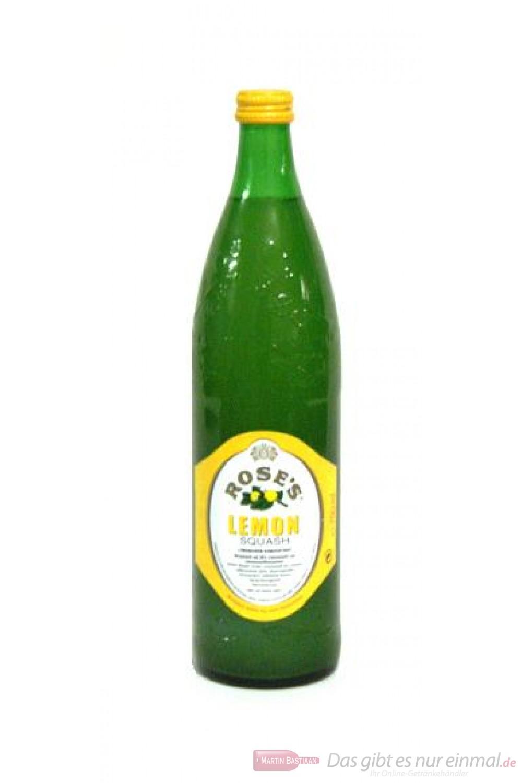 Roses Lemon Squash