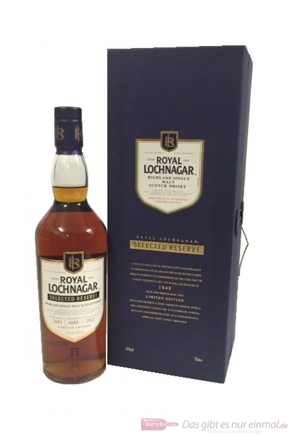 Royal Lochnagar Selected Reserve 2012
