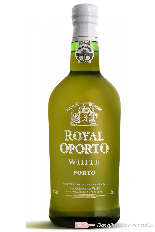 Royal Oporto White Portwein 19 % 0,7 l Flasche