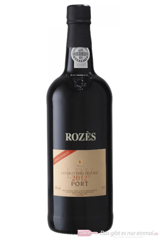 Rozès Late Bottled Vintage 2012 Porto 0,75l