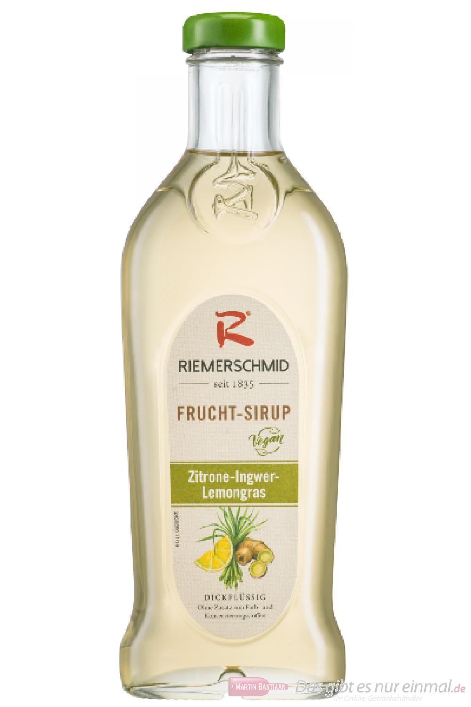 Riemerschmid Fruchtsirup Zitrone Ingwer Lemongras