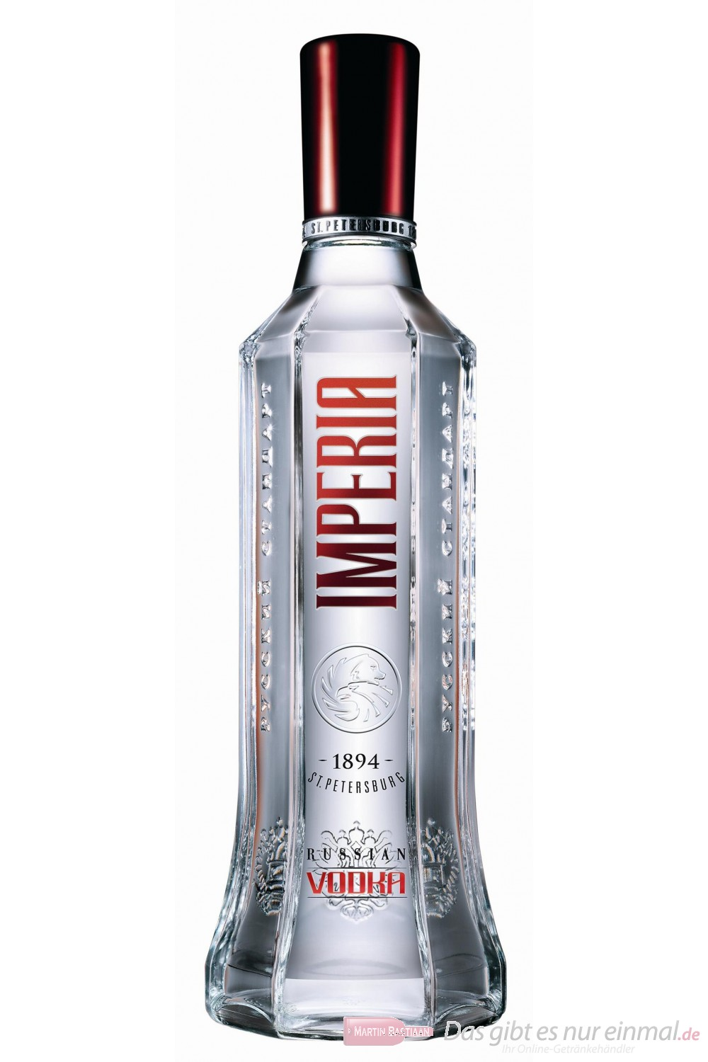 Russian Standard Wodka Imperia 40 % 0,7 l Vodka Flasche