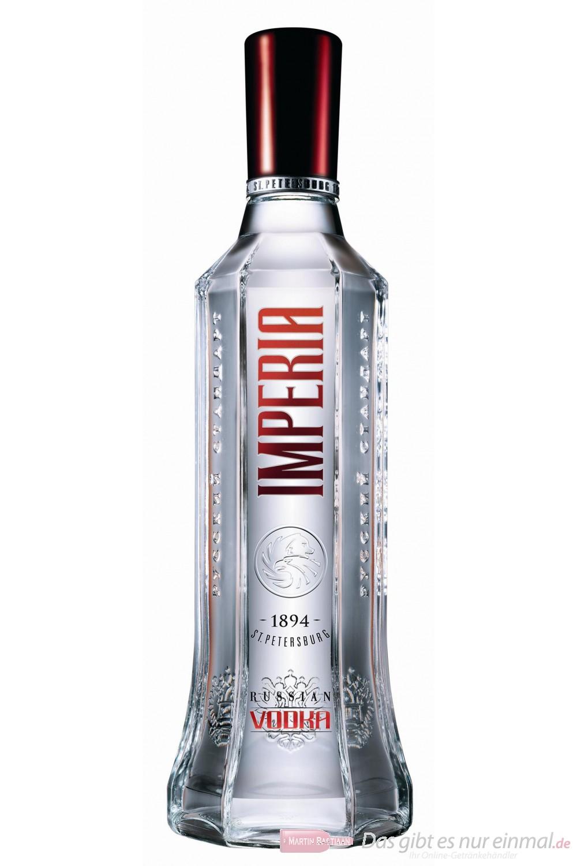 Russian Standard Wodka Imperia 40 % 0,7 l Vodka Flasche