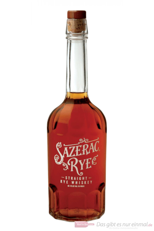 Sazerac Straight Rye Whiskey 0,7l Flasche