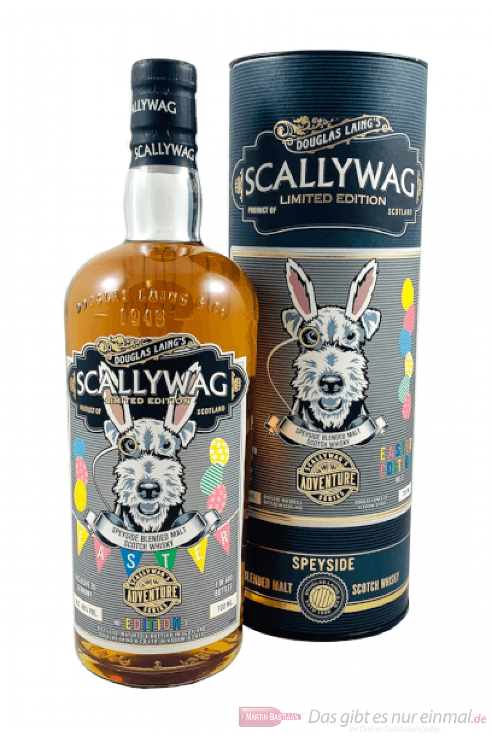 Scallywag Easter Edition 2019 Blended Malt Scotch Whisky 0,7l