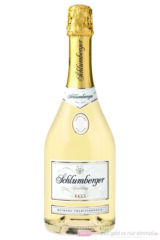 Schlumberger Sekt Sparkling Brut 11,5 % 6-0,75 l Flaschen
