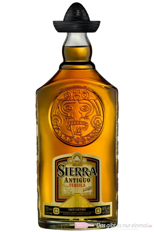 Sierra Tequila Antiguo 40 % 0,7 l Flasche