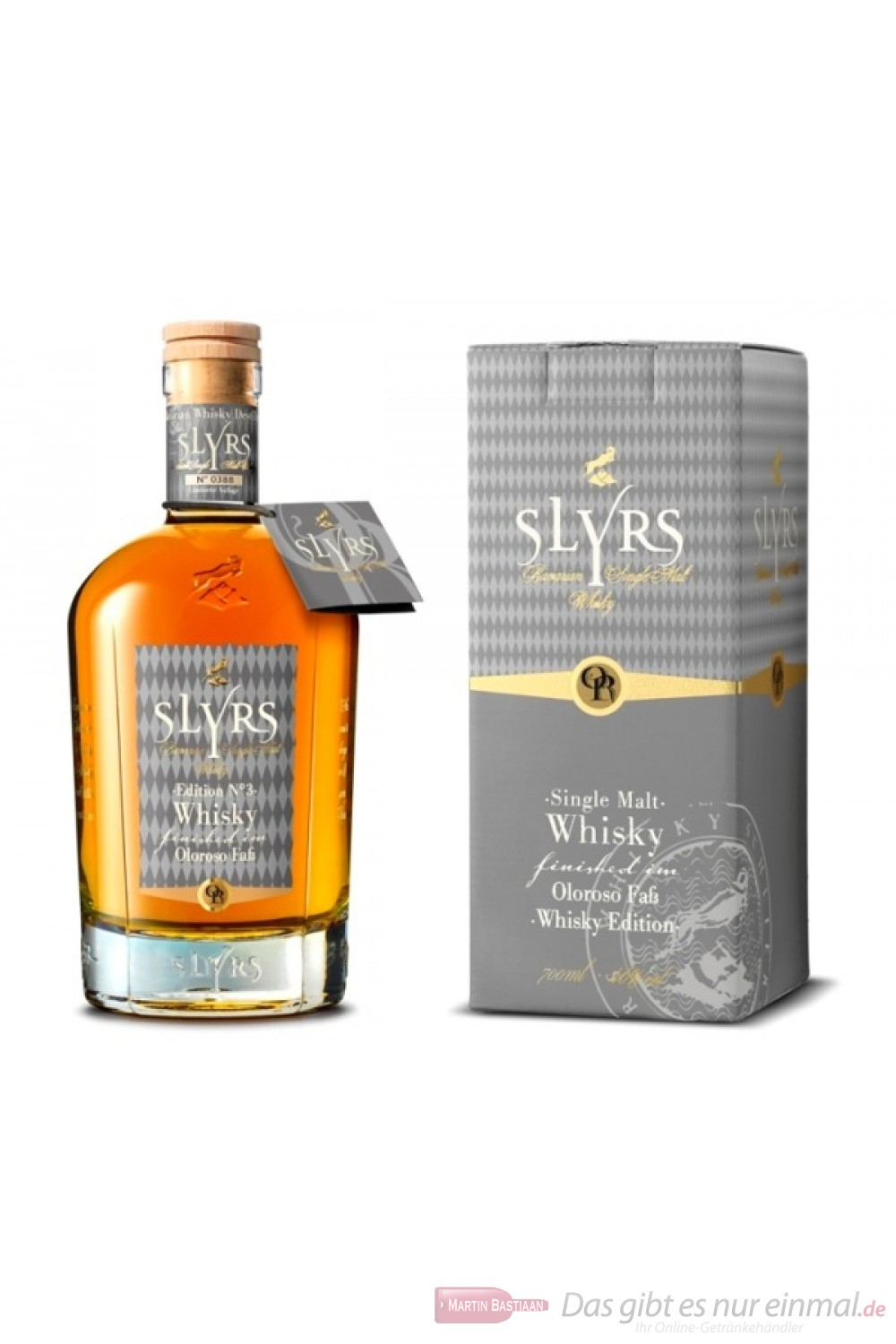 Slyrs Oloroso finished