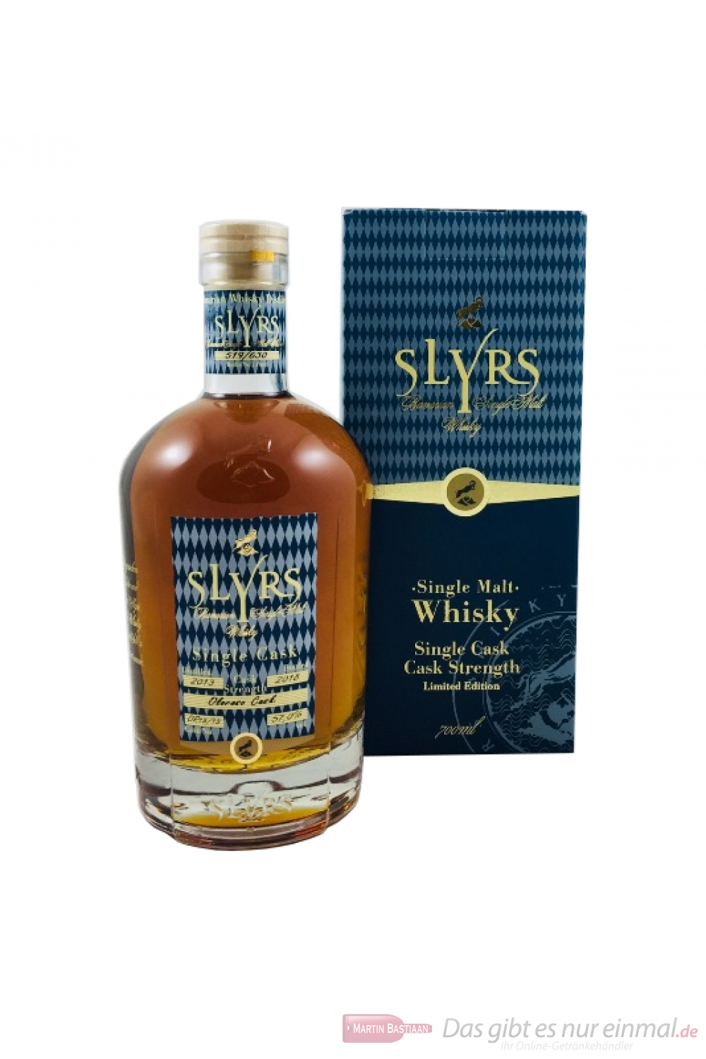 Slyrs Single Cask Oloroso