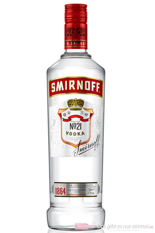 Smirnoff No.21 red Label Vodka 0,7 l