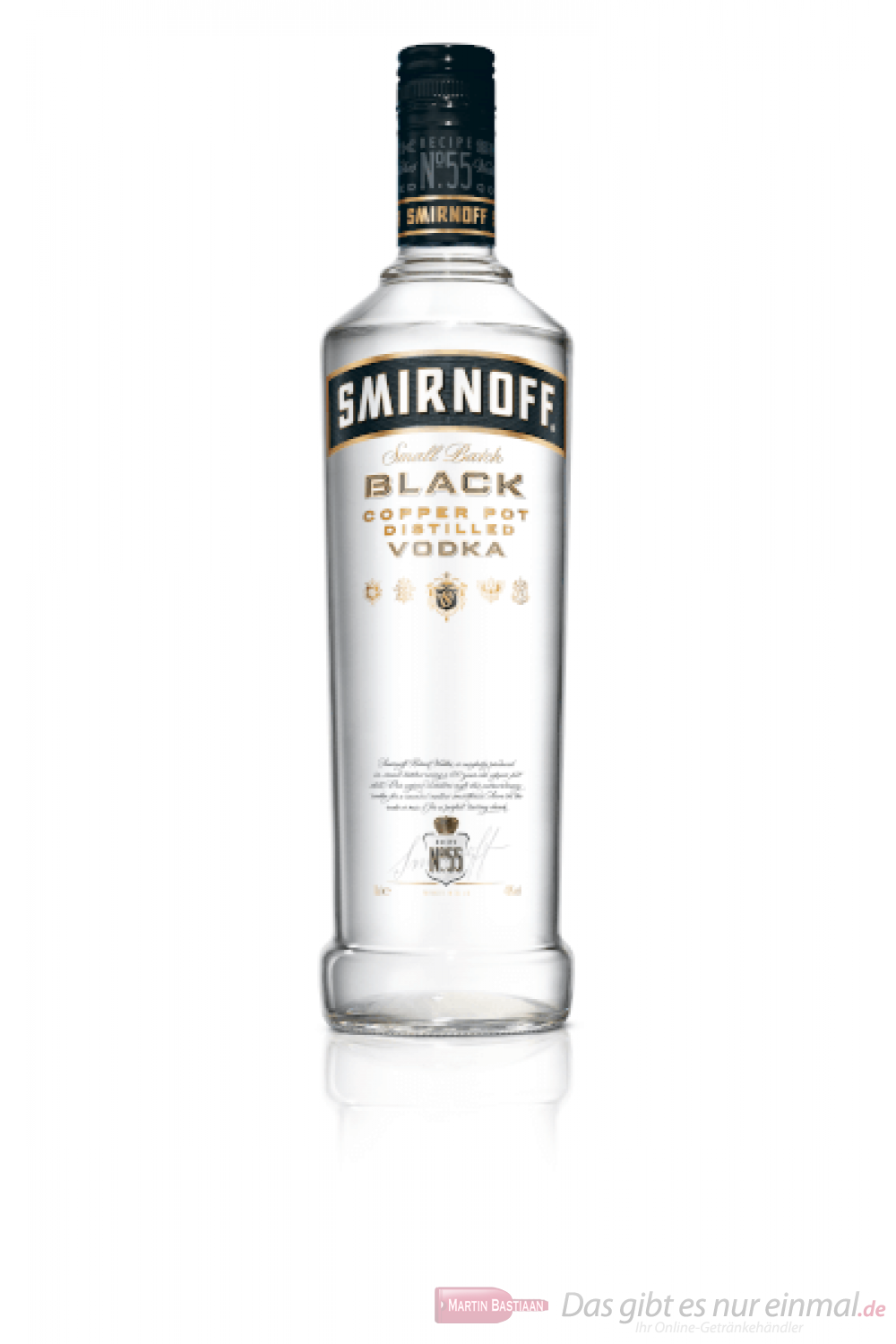 Smirnoff Vodka black Label No.55 0,7l