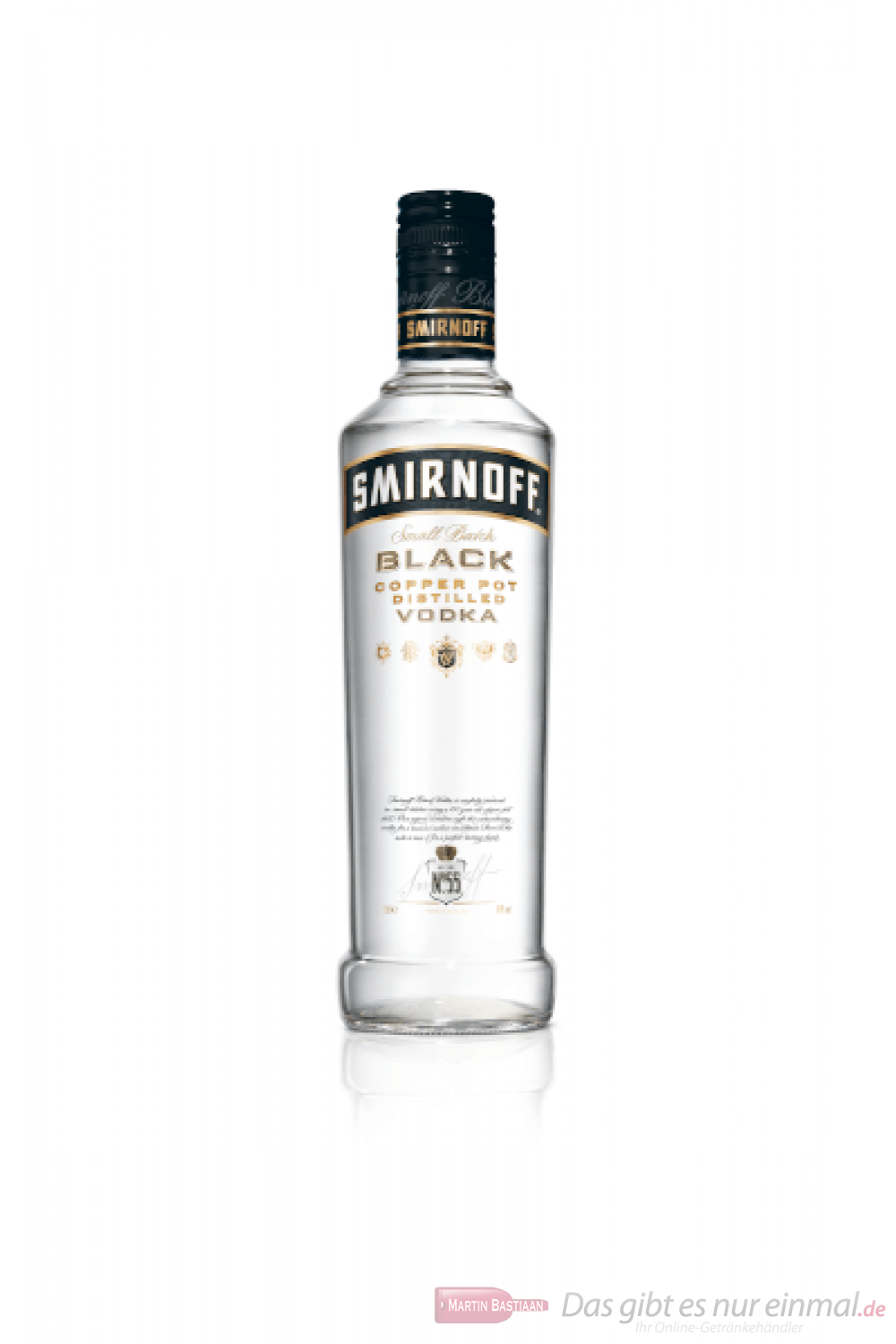 Smirnoff Vodka black Label No.55 0,5l