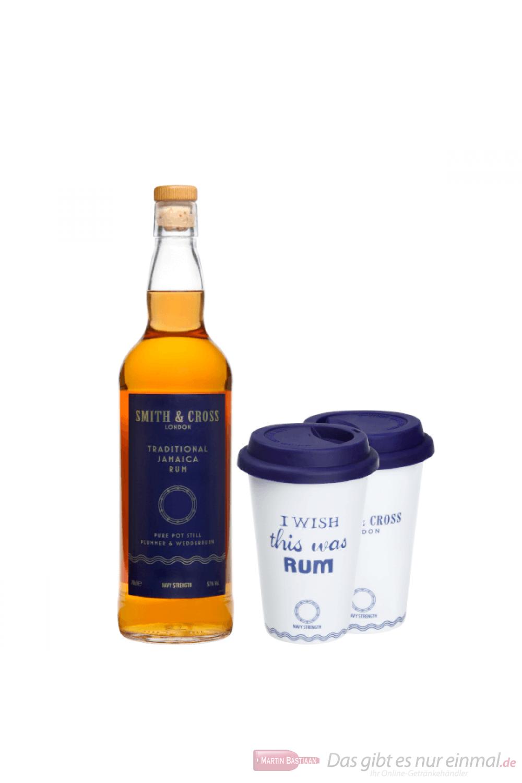 Smith + Cross Rum mit Tasse 0,7l