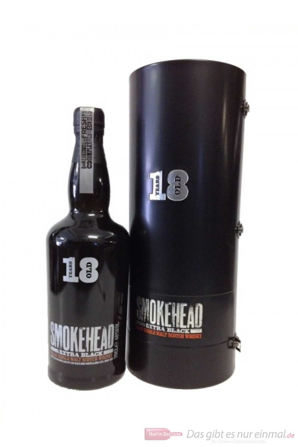 Smokehead 18 Years Extra Black