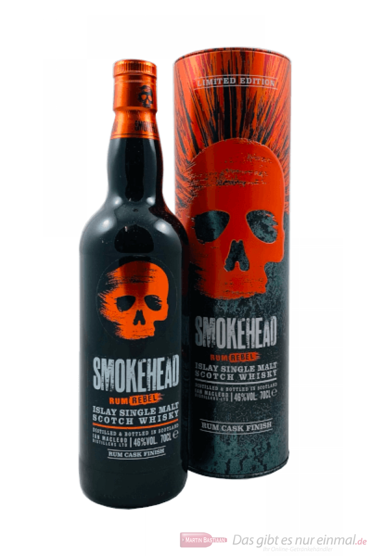 Smokehead Rum Rebel Single Malt Scotch Whisky 0,7l