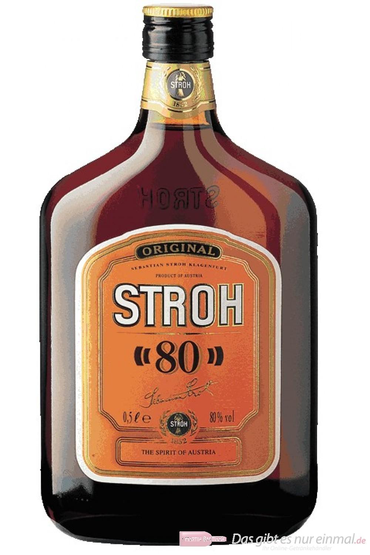 Stroh Rum Original 80% 0,5l Flasche
