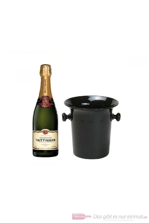 Taittinger Champagner Brut Réserve in Champagner Kübel