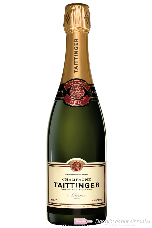 Taittinger Champagner Brut Réserve 12% 0,375l Flasche