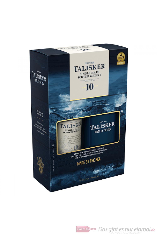 Talisker 10 years mit Hip Flask Single Malt Scotch Whisky 0,7l