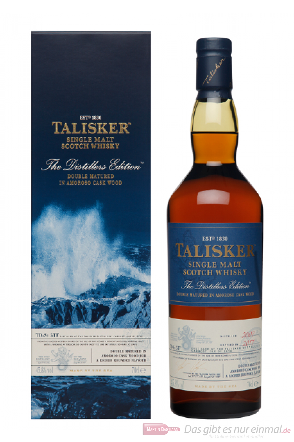 Talisker Distillers Edition 2017/2007
