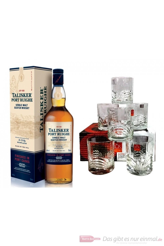 Talisker Port Ruighe + 6 Tumbler