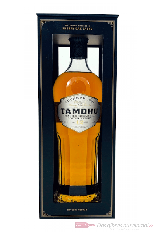 Tamdhu 12 Years Single Malt Scotch Whisky 0,7l