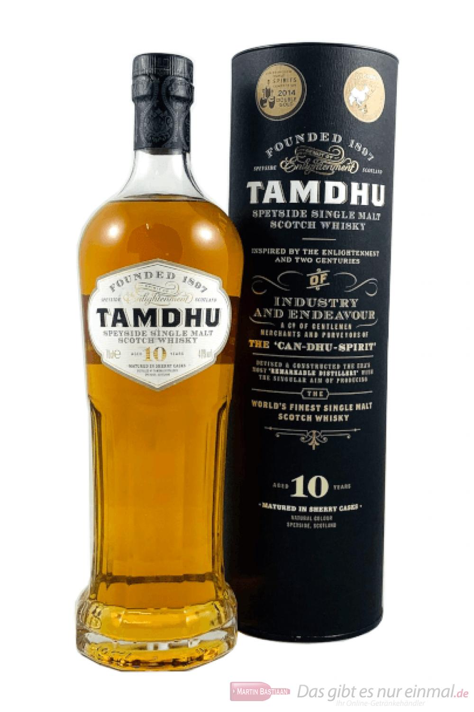 Tamdhu 10 Years Sherry Cask Single Malt Scotch Whisky 0,7l