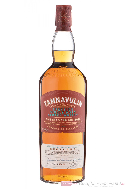 Tamnavulin Sherry Cask Edition Single Malt Scotch Whisky in GP 0,7l