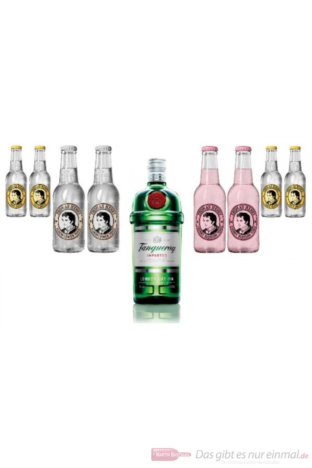 Tanqueray Gin Tonic Water Mix Pack