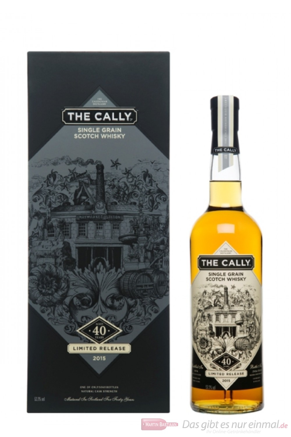 Caledonian The Cally 40 Years