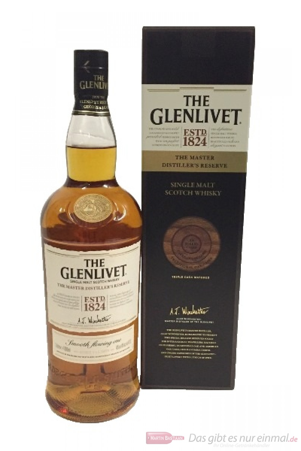 The Glenlivet Master Distiller's Reserve