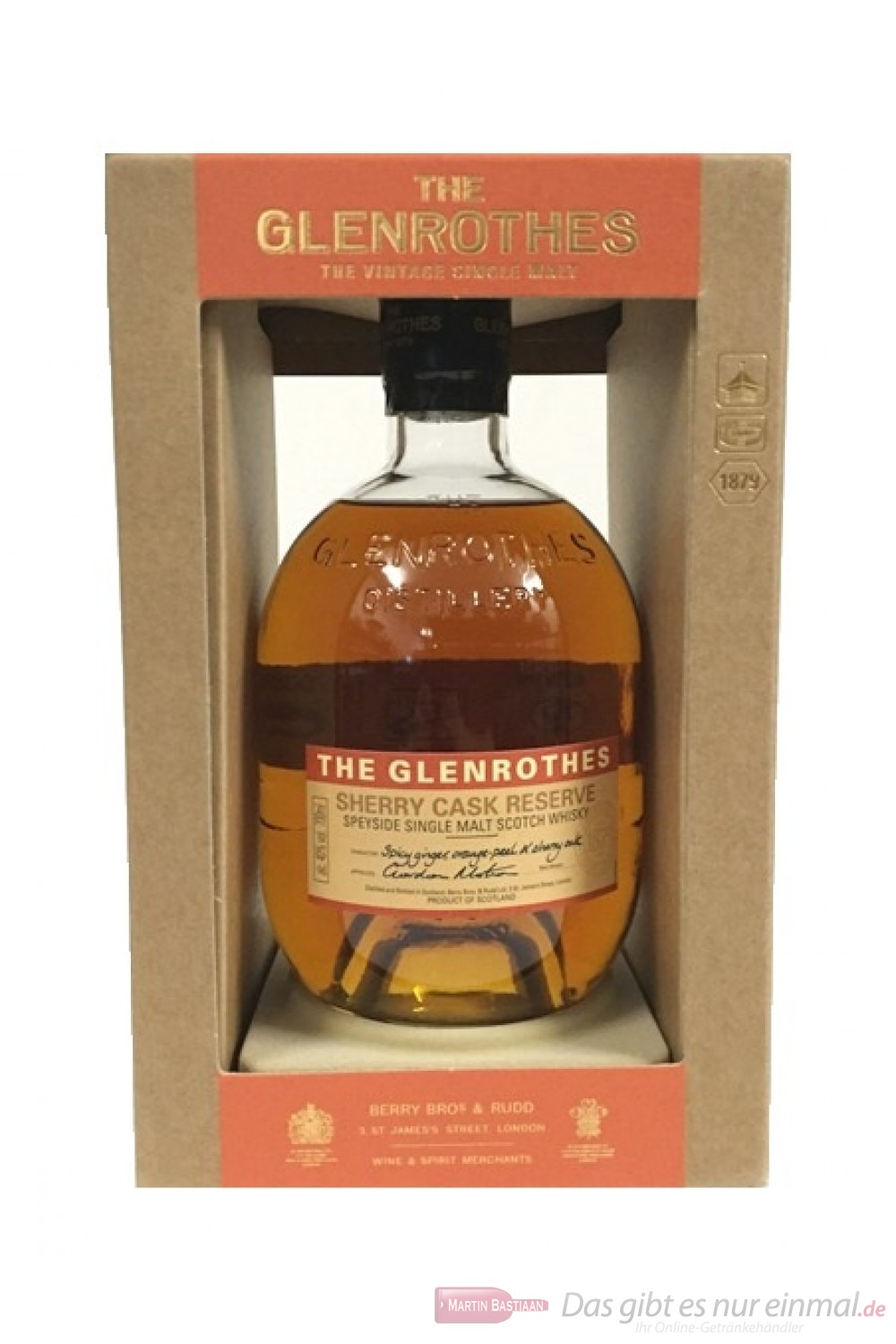 The Glenrothes Sherry Cask Reserve