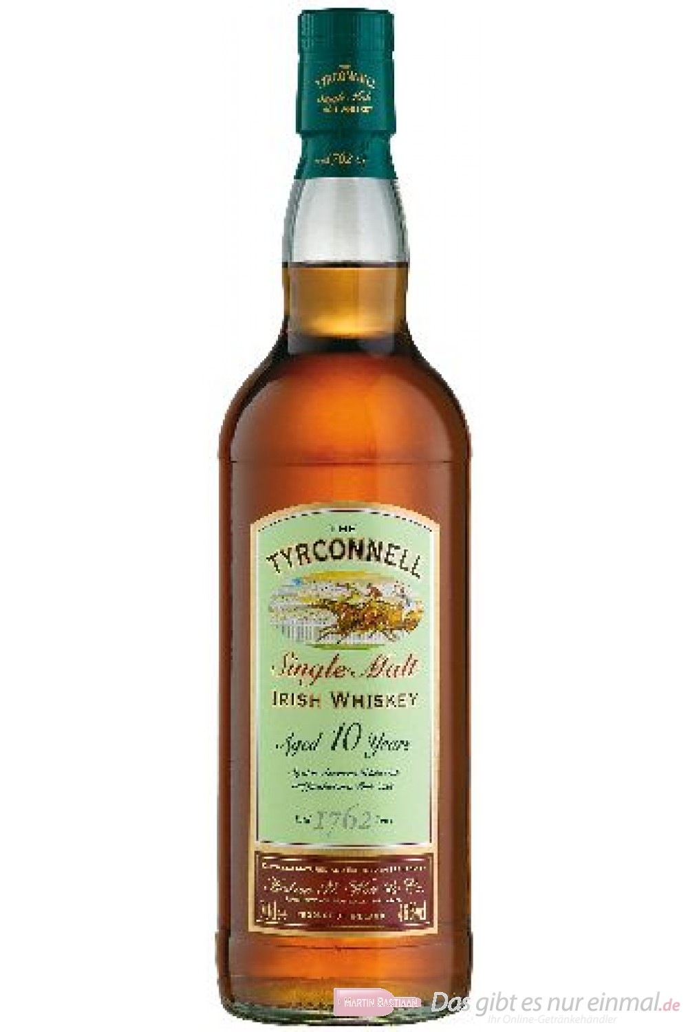 The Tyrconnell 10 Years Port Wood Finish Single Malt Irish Whiskey 46% 0,7l Flasche