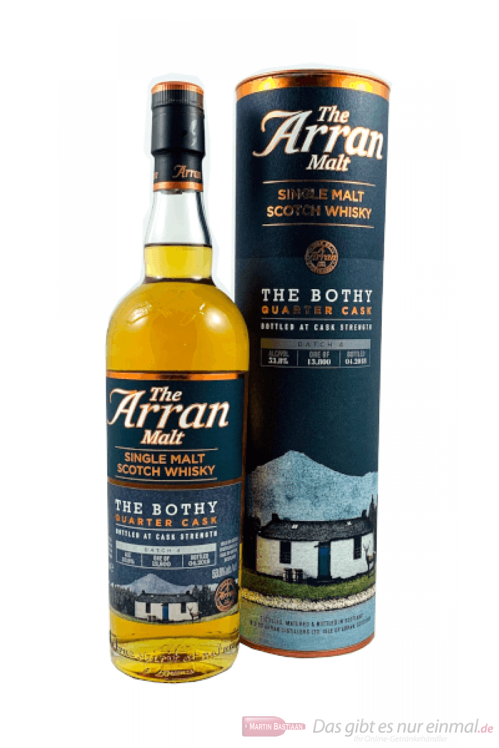 The Arran The Bothy Quarter Cask Batch 4 Scotch Whisky 0,7l