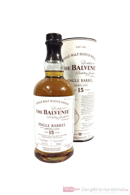 Balvenie Single Barrel 15 Years Sherry Cask 2025