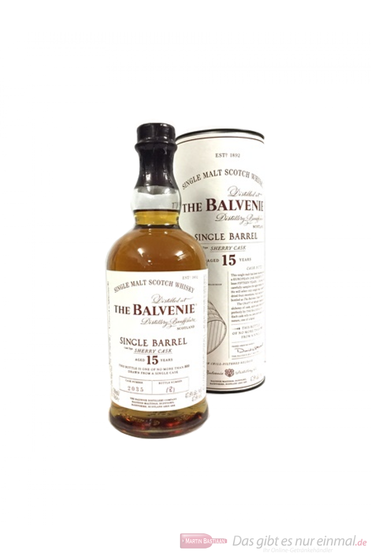 Balvenie Single Barrel 15 Years Sherry Cask 2035