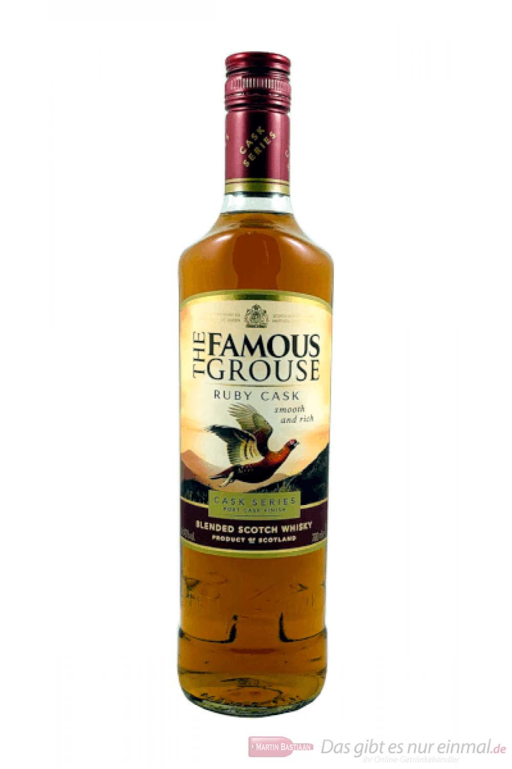 The Famous Grouse Ruby Cask Finish Blended Scotch Whisky 0,7l