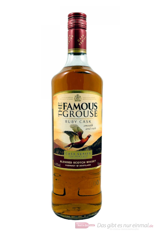 Famous Grouse Ruby Cask Port Cask Finish Blended Scotch Whisky 1,0l