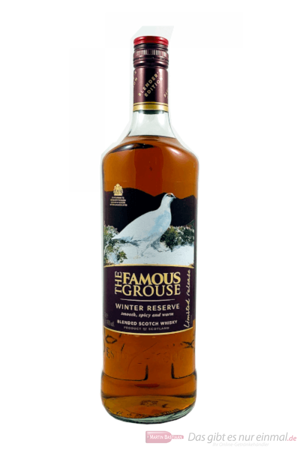 Famous Grouse Winter Reserve Blended Scotch Whisky 1,0l