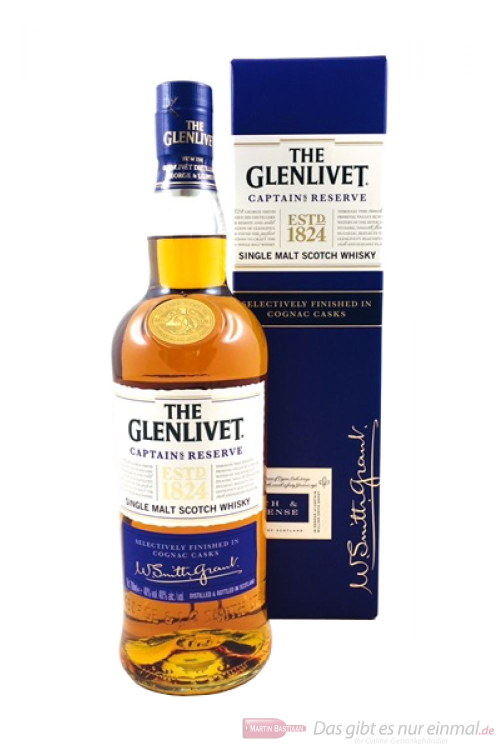 The Glenlivet Captains Reserve