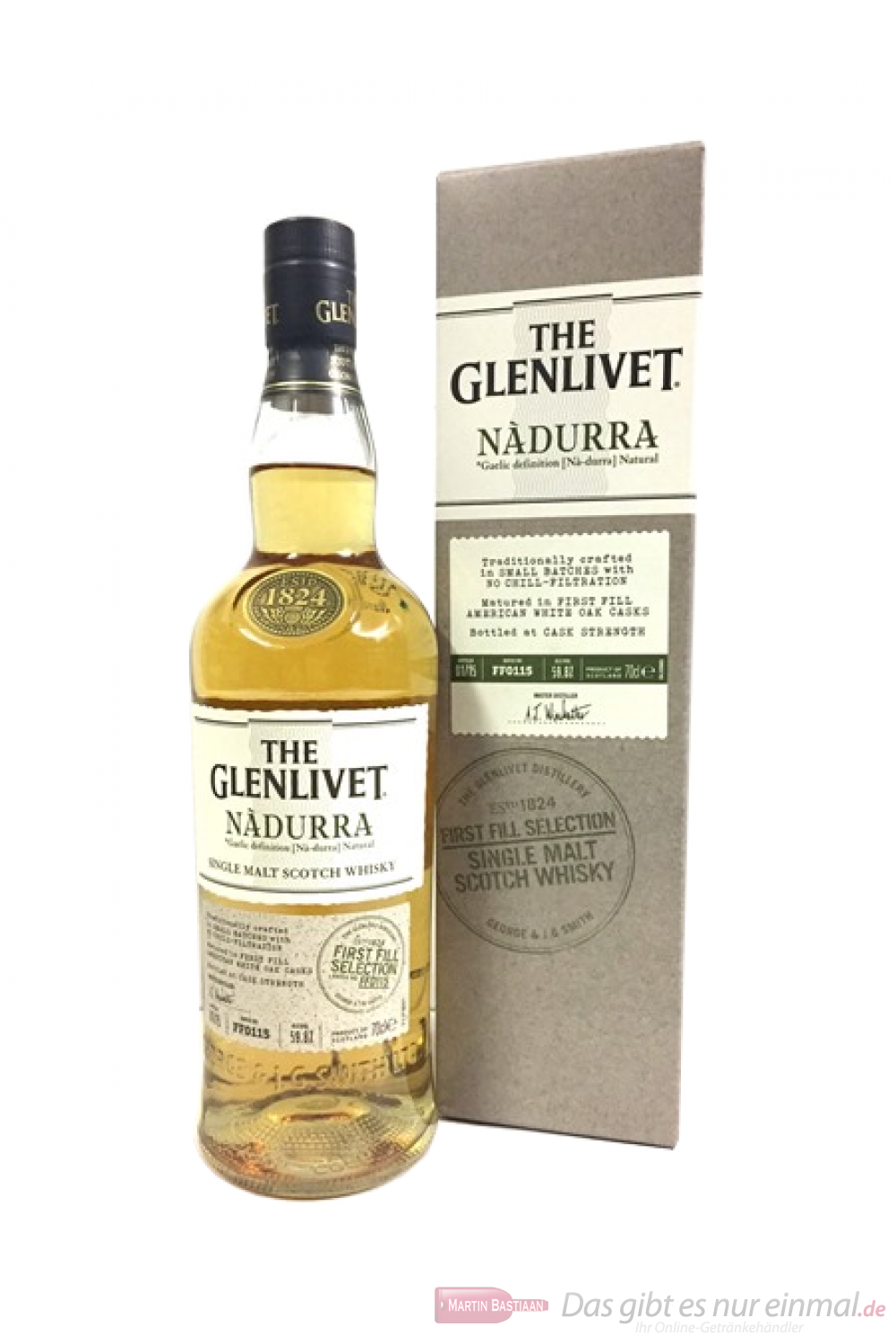 The Glenlivet Nadurra First Fill Selection 59,8%