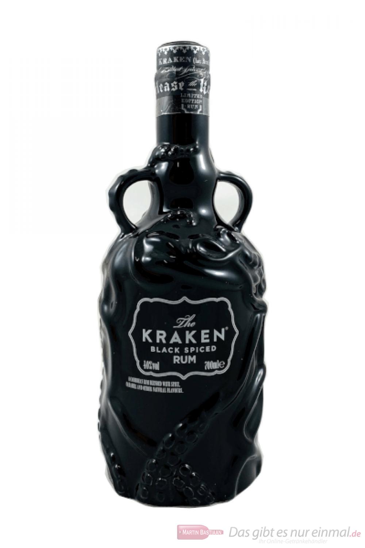 The Kraken Black Spiced Ceramic schwarze Edition 2018 0,7l